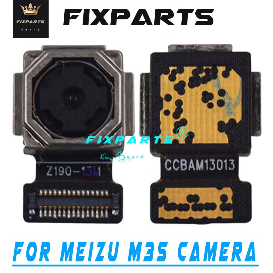 Original 100% Tested Well M2 M5 M5S M3 Note Back Big Rear Camera Board Flex Cable Meizu M3S M3s Mini Mobile Phone Camera Modules