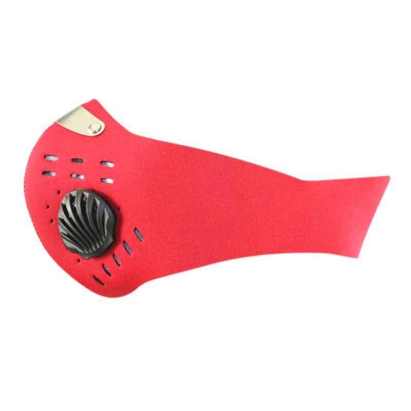 Outdoor Mannen Fietsen Gezicht Maskers Half Gezichtsmasker Anti-Dust Outdoor Sport Fiets Masker Carbon Beschermende Filter Luchtverontreinigende