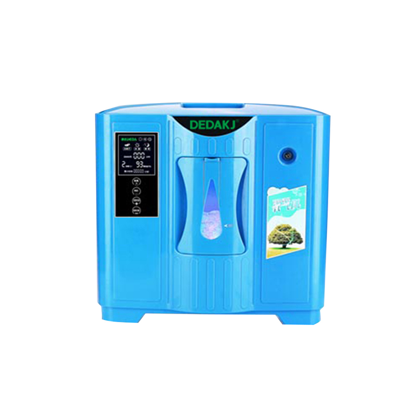 DEDAKJ DDT-2F Portable Oxygen Concentrator Generator Household Portable Machine Home Air Purifier 220V Free Shipping medical oxygen concentrator for respiratory diseases 110v 220v oxygen generator copd oxygen supplying machine