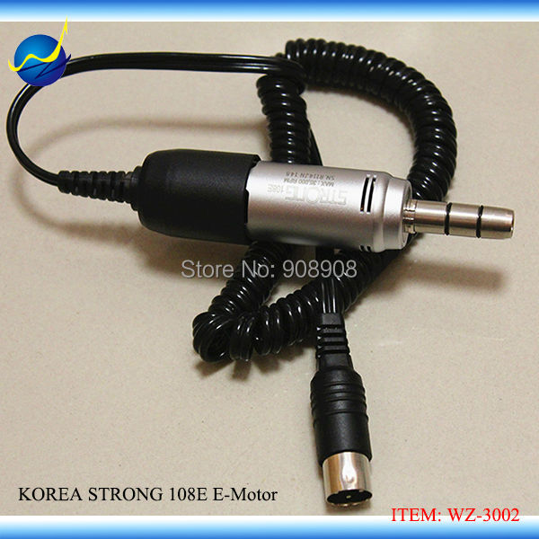 Original Korea Carbon Brush E-Type Micro Motor STRONG 108E (35K) Handpiece Suit 204, 90, EIII micromotor Power Engine платье для девочки let s go цвет фиолетовый 8126 размер 122