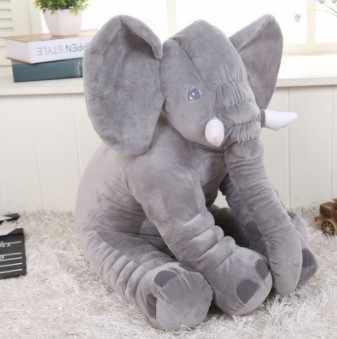 Кожа Большая распродажа 60 см красочные гигантский слон кожа плюшевые мягкие игрушки мягкие детские игрушечные подушки для детей Бесплатная доставка