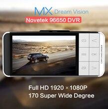 Anytek AT66 Cámara Del Coche Novatek 96650 WDR Grabadora de Vídeo 1920×1080 DVR g-sensor Registrator Videocámara Mini Externa GPS Tracker