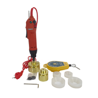 Shipping By DHL 1 SET Electric Capping Tools Equipment Handheld Pharmaceutical Bottle Capper Foils Jar Locking