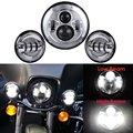 7 PULGADAS de Cromo Harley Daymaker LLEVÓ La Linterna + 4 1/2 ''luz de niebla de las luces de cruce para La Motocicleta Harley Davidson