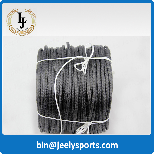 Free Shipping 1000m 1300lb uhmwpe fiber extreme braid paraglider winch rope 2.3mm 16 weave