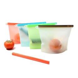 Силиконовый закреп мешка для еды свежие Запечатанные сумки многоразовые сумки для хранения герметичный уплотнитель контейнер для