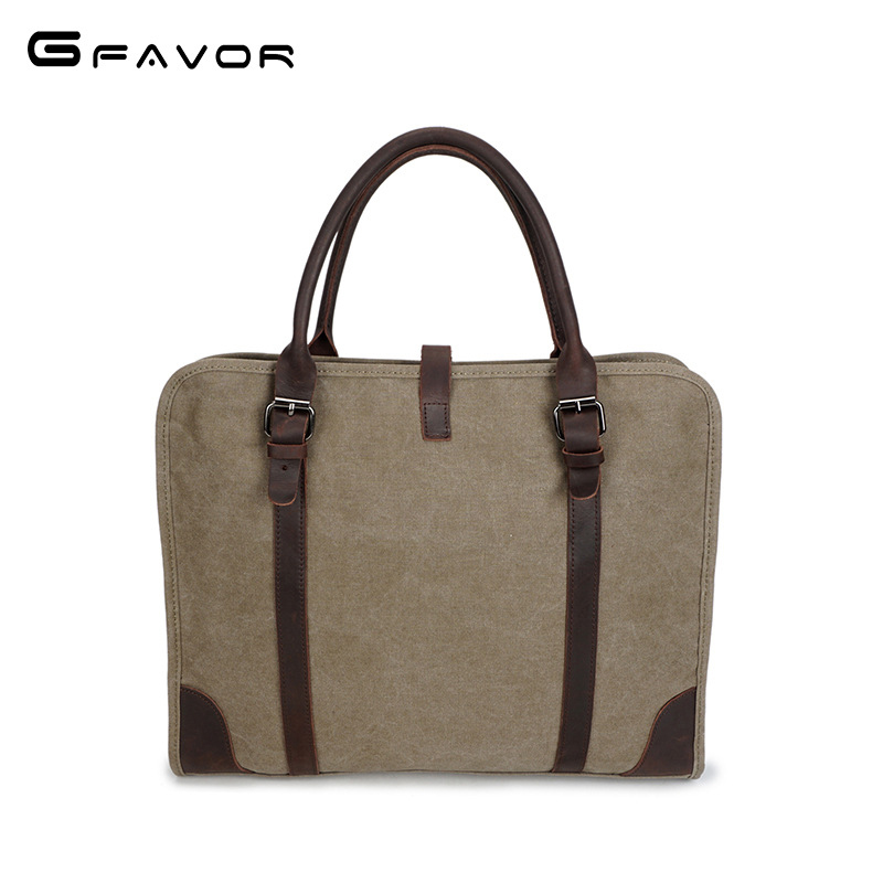 Vintage Canvas Handbag Men Business Laptop Bag Shoulder Messenger Bags Male Computer Bag Fashion Crossbody Travel Bags Totes high quality men canvas bag vintage designer men crossbody bags small travel messenger bag 2016 male multifunction business bag