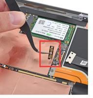 Ponte connettore per microsoft surface pro 3 (1631) tra lo schermo e scheda logica connettore di ricambio|Schermi LCD e pannelli per tablet|Computer e ufficio -