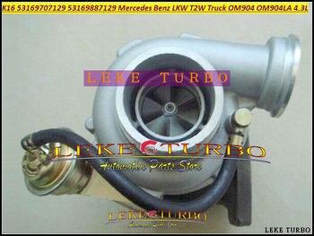 8b6b3801 Turbo K16 53169887024 53169887019 53169707024 53169707019 A9040964299 для  Mercedes Benz Atego 97-OM904 OM904LA OM904LA-E2 4.25L