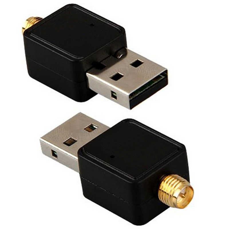 1200 mb/s 802.11n adapter Ethernet USB karta sieciowa bezprzewodowy dostęp do internetu odbiornik 2.4 GHz USB 2.0 bezprzewodowy adapter wifi z anteną