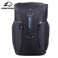 Kingsons Digital DSLR Photo Padded Waterproof Backpack Camera Video Soft Bags Anti Impact Protection Lens Photography