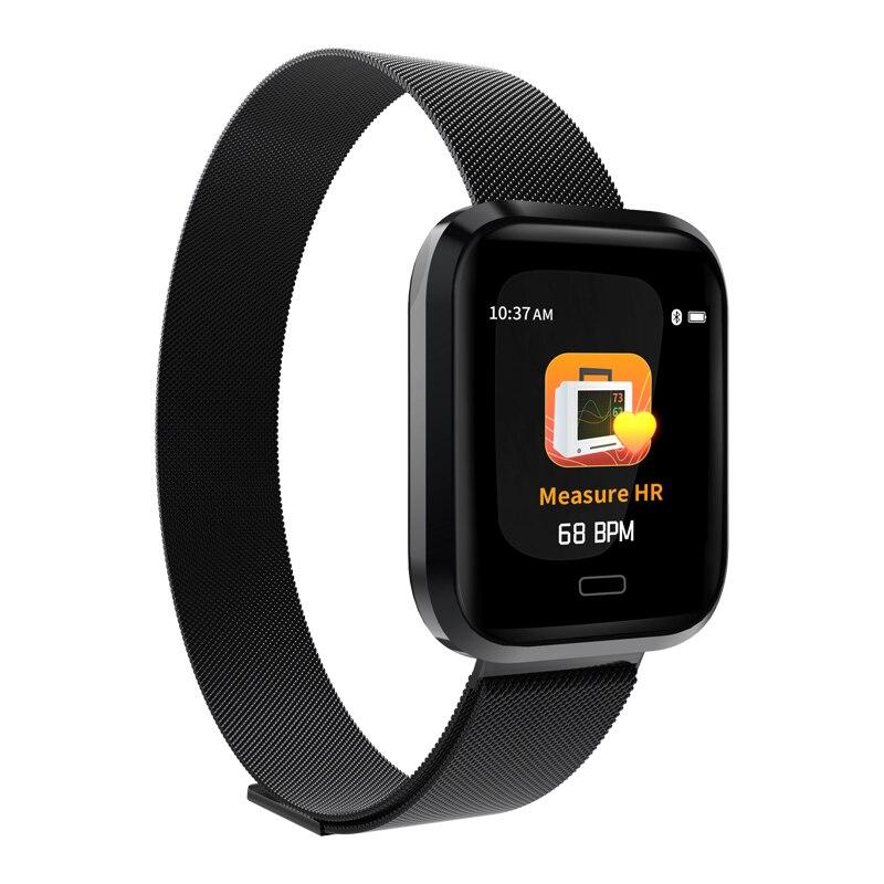 Smart watch M36 monitor heart rate blood pressure information push Bluetooth step 1.3 color screen health sports bracelet умные часы smart watch y1