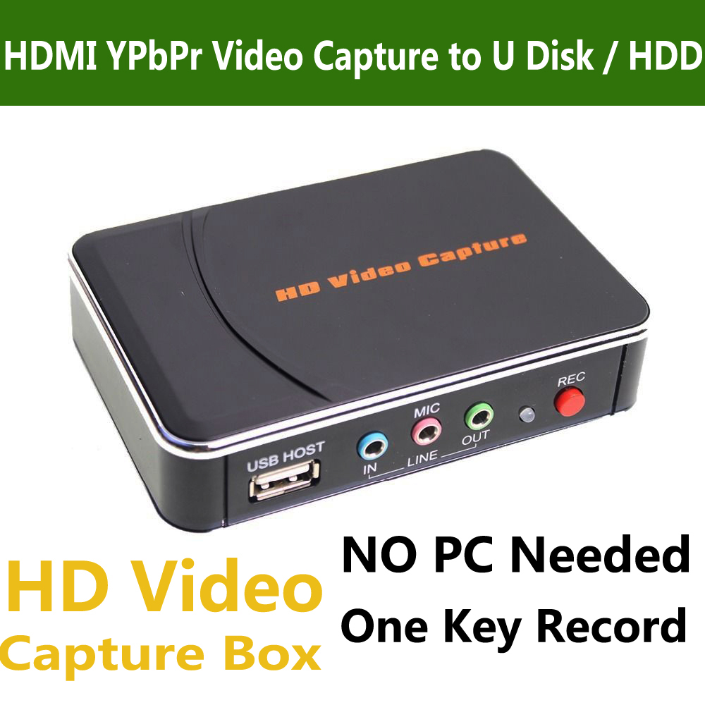 Genuine ezcap 280 hd game video capture box hdmi ypbpr for Image capture