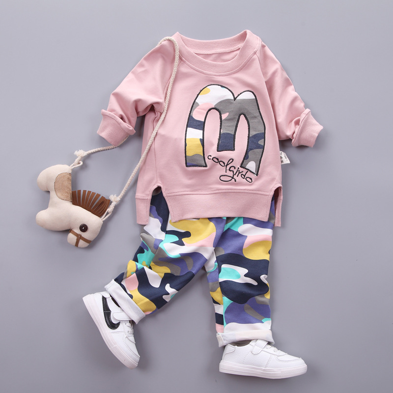 Kids Clothes Set Baby Boys Girls Clothes Suit Toddler Boys Clothing Long Sleeve Tshirt Pants Casual Tracksuits Children Clothes girls boys clothing set kids sports suit children tracksuit girls waistcoats long shirt pants 3pcs sweatshirt casual clothes