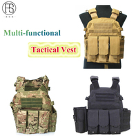 Multi function Tactical Vests Military Equipment Tactical Military Airsoft Vest Outdoor Sport Hunting Vest Patinball Combat Vest