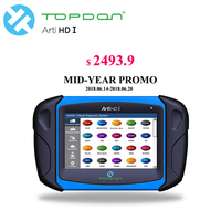 Topdon Arti HD 1 Heavy Duty Diagnostic Tool for Truck, Bus, Car ECU Reprogram/Calibration/ Data Stream, Actuation Test car diag