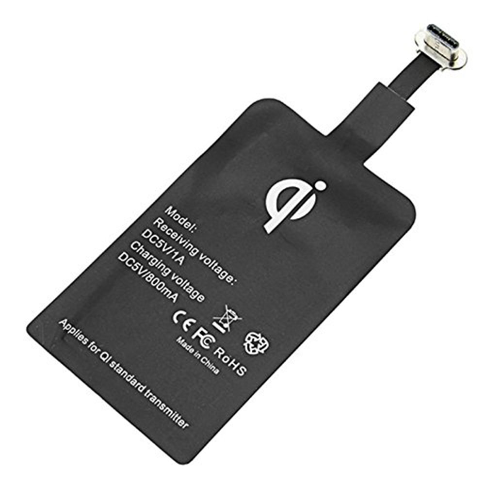 Ascromy Type C QI Wireless Charger Receiver For Xiaomi Pocophone F1 Huawei P20 Pro Oneplus 6T One plus 6 5T USB C Phone Charging (6)