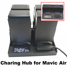 Battery Charger For DJI Mavic Air Drone Battery Smart Charger Battery Manager Charging HUB Drone Parts with LCD Monitor