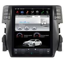 """10,"""" вертикальная Экран Тесла Стиль Android 7,1 игрок автомобиля gps навигации для Honda Civic с радио BT USB стерео"""