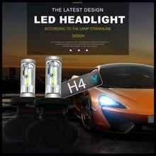 Modifygt S1 H4 Led Headlight Bulb H7 led H8 H11 H1 H3 9005 9006 12V 50W 8000LM 6000K car Auto Automotive accessories