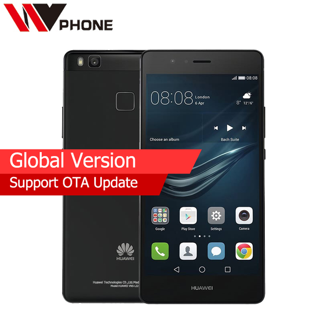 "Huawei P9 Lite global version VNS L22 4G LTE Mobile Phone Octa Core 2G RAM 16G ROM 5.2"" 1080P Fringerprint 8.0MP 13.0MP"