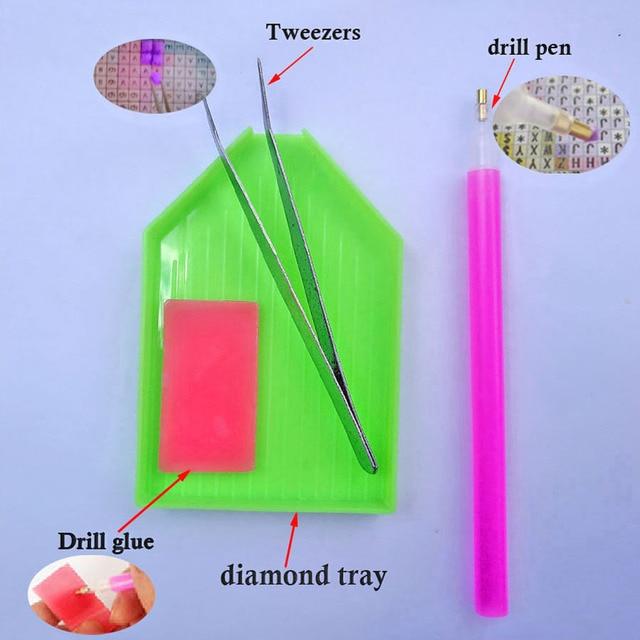 Cuadro Completo 5D DIY punto de cruz, pintura de diamante japonés dibujo Sailor Luna de diamantes mosaico, bordado, manualidades decoración del hogar