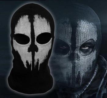 Mounchain Outdoor Sports Hiking Cap Windproof 10 COD Ghost Balaclava Logan Skull Face Mask Hood Biker Cycling Camping cap #9