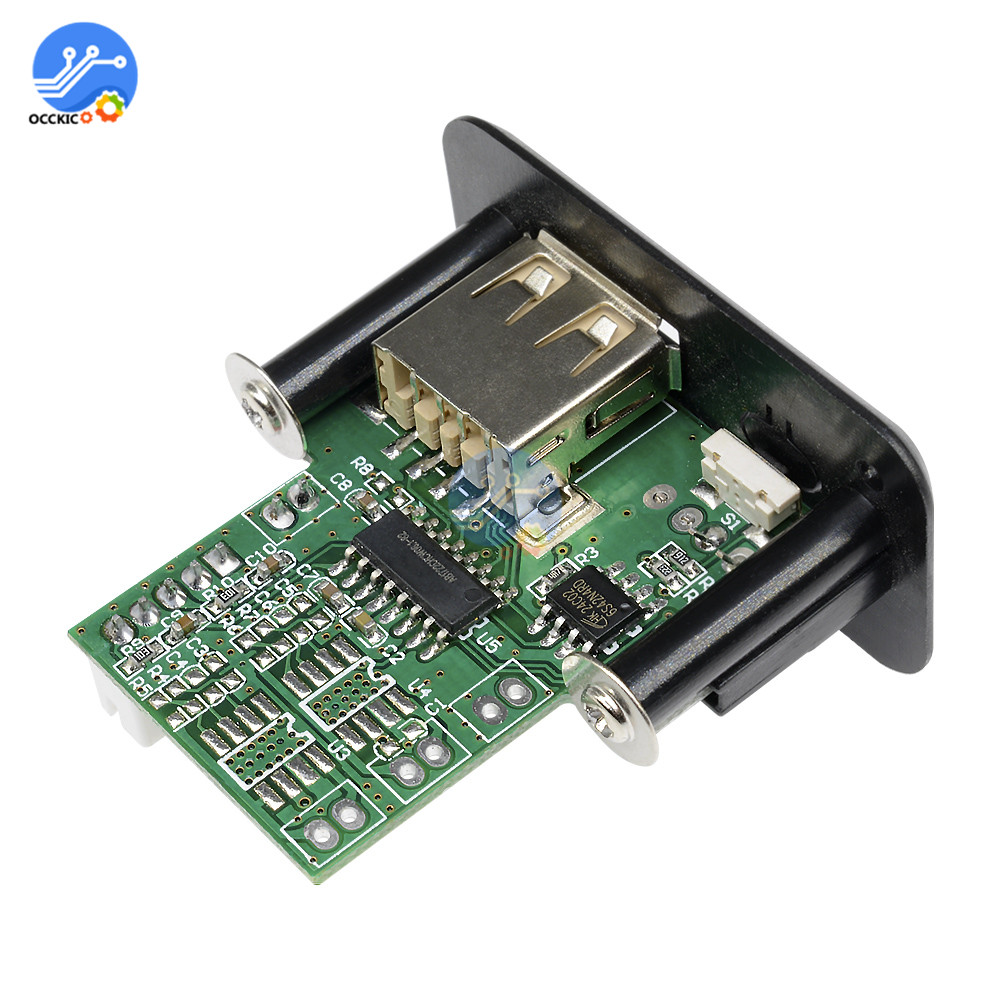 MP3 Module Audio USB TF FM Radio Module 5V 7-12V MP3 WMA Decoder Board Lossless MP3 Speaker Module For Car