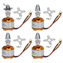 4pcs Brushless Motor 1400KV A2212 For RC Quadcopter Drone Helicopter Airplane Toy Parts 61