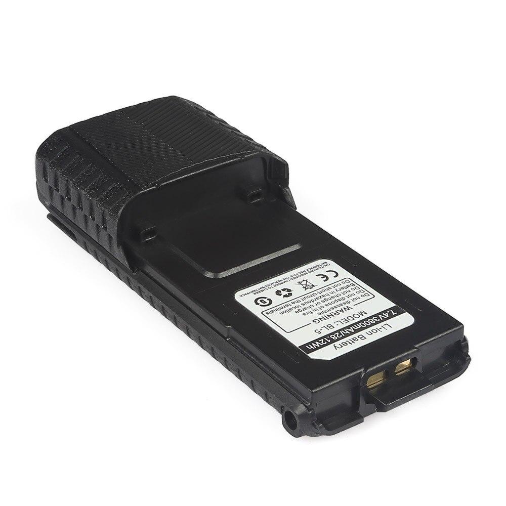 bilder für 3800 mah Batterie Für Baofeng uv-5r F8HP Batterie leistungsstarke batterie für zwei funkgeräte