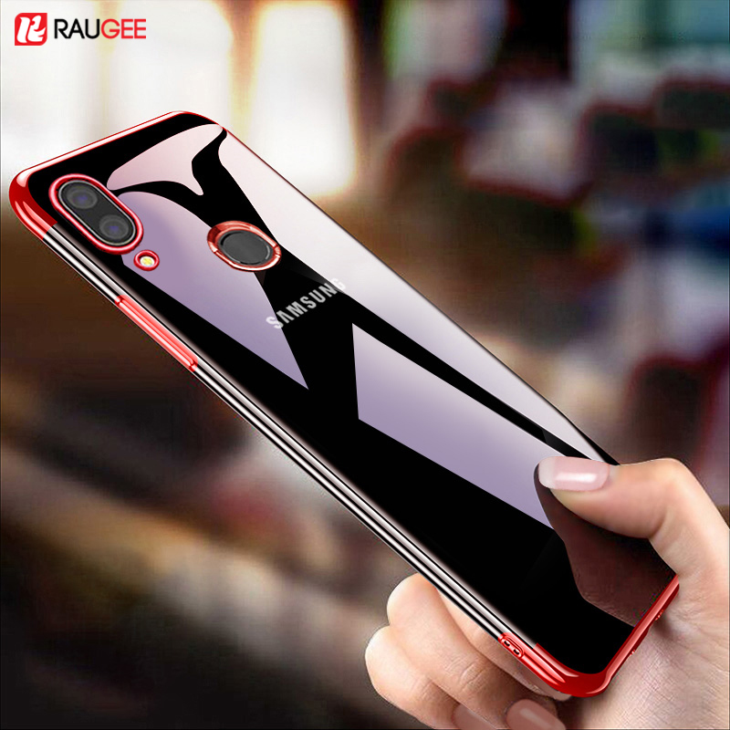 Raugee Soft Case For Samsung M20 M 20 Cover TPU Silicone Bumper Phone Case For Samsung Galaxy M20 Cover For pocophone F1