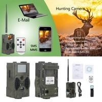 12MP Photo Traps Night Vision Hunting Camera MMS GPRS HC300M GSM Wildcamera Chasse 32GB Memory Transfer Photo Trap Video Camera