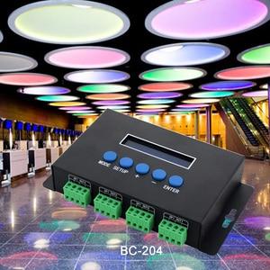 Image 5 - Artnet Ethernet כדי SPI/DMX פיקסל led אור בקר BC 204 DC5V ~ 24V פלט הנוכחי 7Ax4CH; מפעל תוכנה עם V1/V2 גרסה