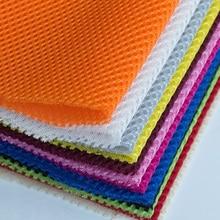 Sandwich cloth mezzanine mesh car seat cover fabric breathable net bed around sofa shoe