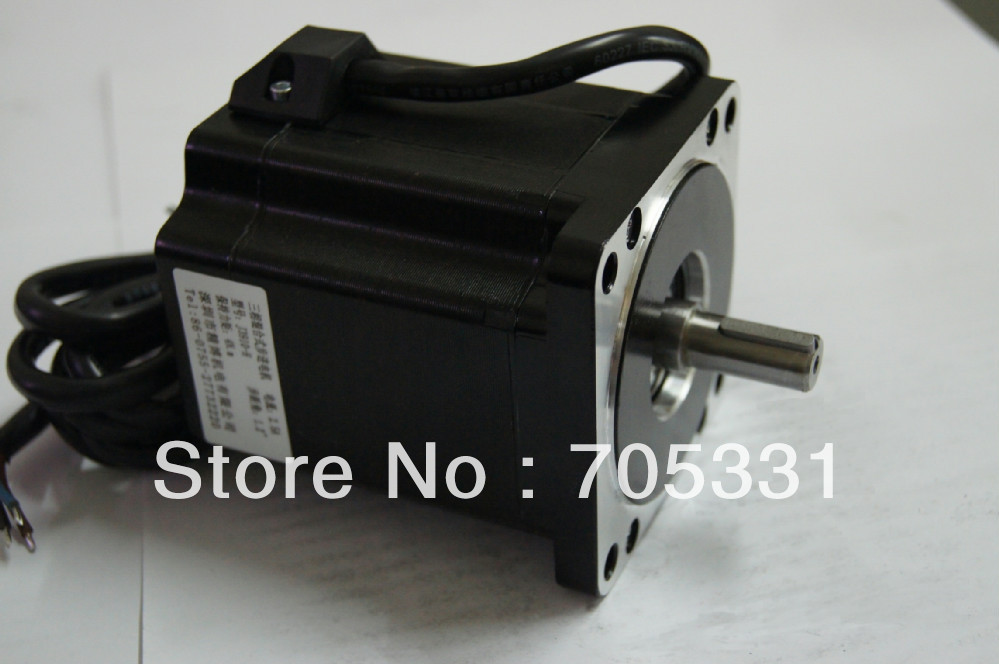 купить 4N.m size 86mm high voltage 3phase high torque hybrid stepping motor J3910-H motor length 97mm по цене 4071.69 рублей