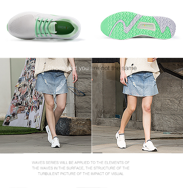 ONEMIX running shoes for women sneakers women breathable cool mesh space PU outdoor lighting for sports jogging walking sneakers 14