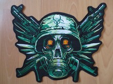 Resident Evil Large Embroidery Patches for Jacket Motorcycle Biker 33cm * 27cm 13 inches