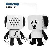 Mini Wireless Bluetooth Music Box Dancing Robot Speaker Box Stereo Loudspeaker For Phone PC MP3 Macbooks