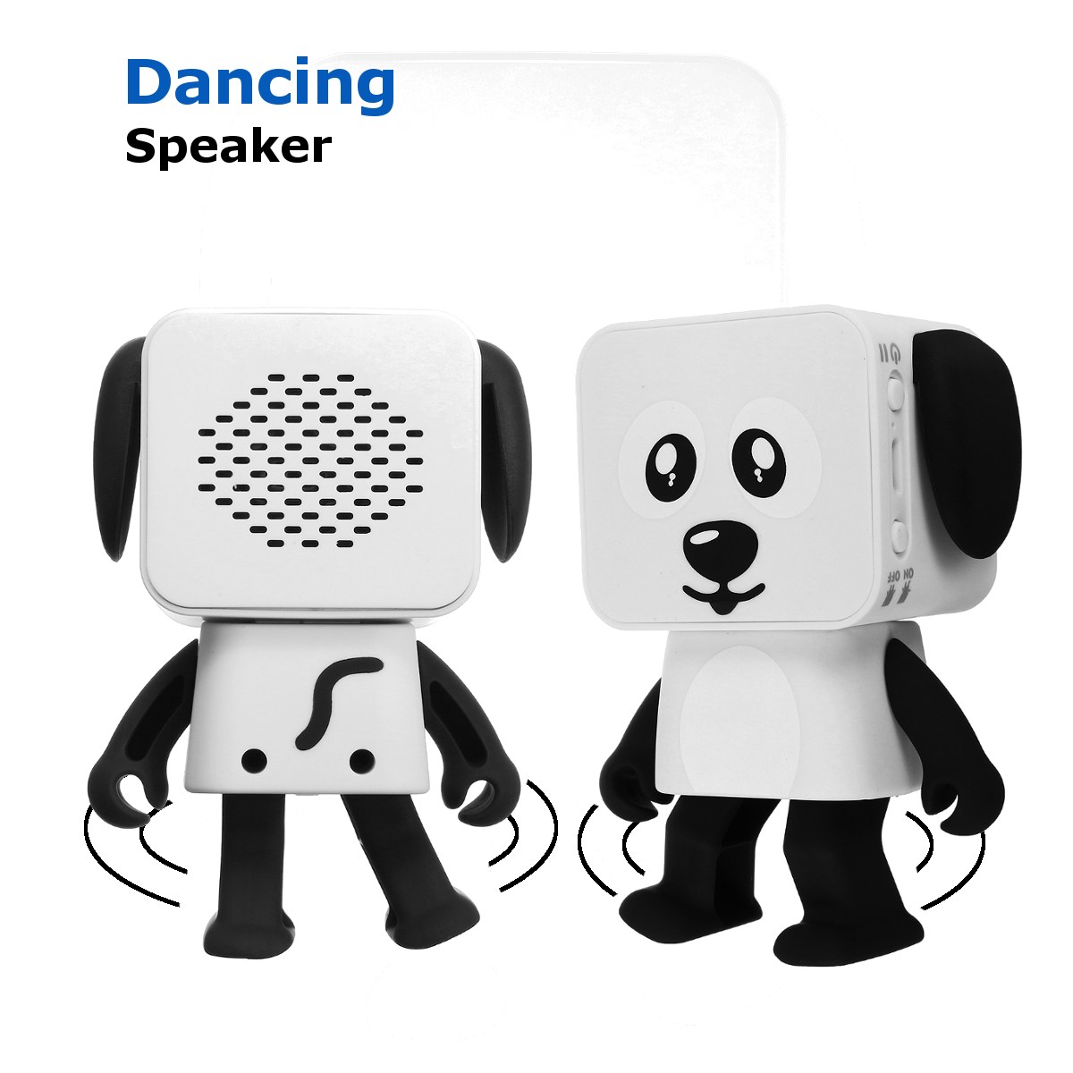 Mini Wireless Bluetooth Music Box Dancing Robot Speaker Box Stereo Loudspeaker For Phone/PC/MP3/Macbooks Cute Gift For Children