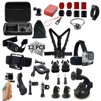 For Xiaomi Yi 2 4K Accessories Set Go Pro Kit Mount F For SJ4000 GoPro Hero4