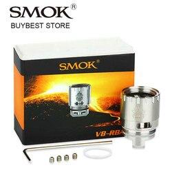 Original Smok TFV8 RBA Bobina de Cabeça para TFV8 Smok Cigarro Eletrônico Tanque Atomizador Rebuildable TFV8 Vape Atomizador RBA Bobina DIY