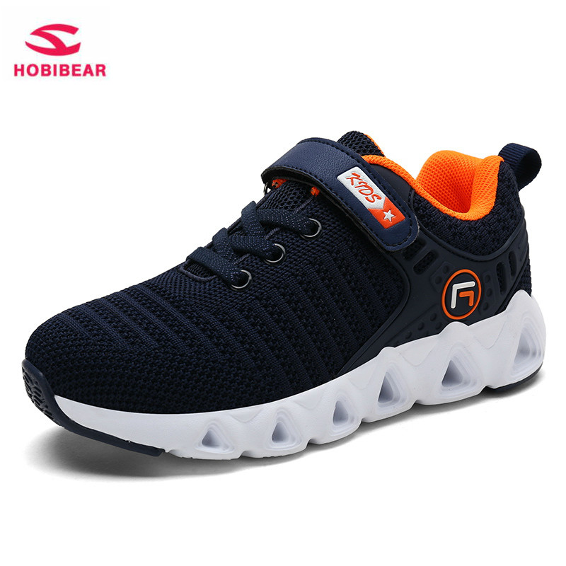 Spring Children Shoes Boys Girls Sports Shoes Autumn 2019 Fashion Brand Breathable Outdoor Kids Casual Sneakers Running Shoes