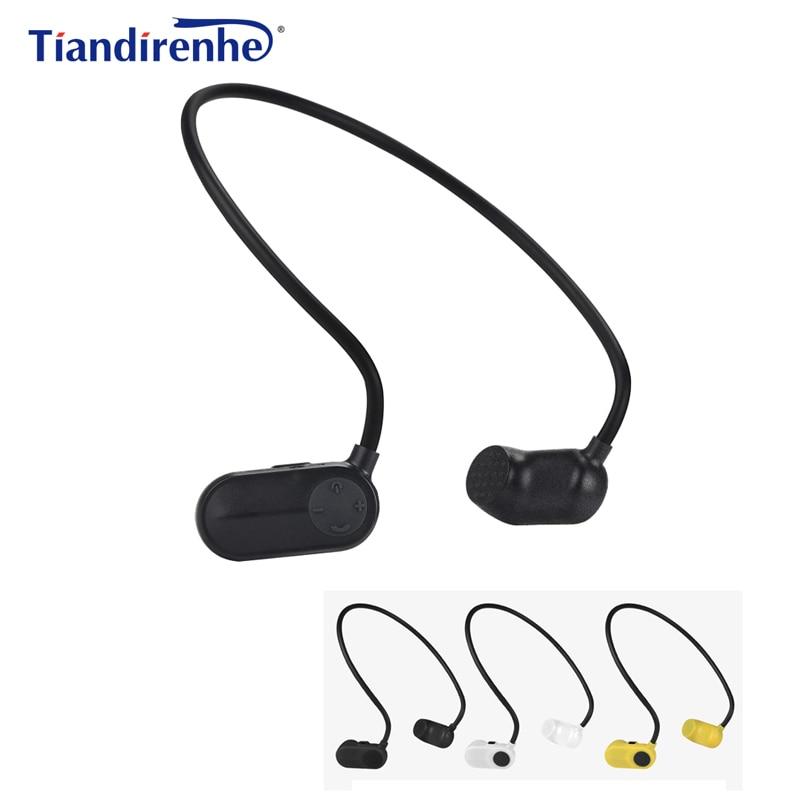 Newest APT-X V31 Bone Conduction 8G 12G HIFI MP3 Player Waterproof Swimming Outdoor Sport Earphones USB MP3 Music Players