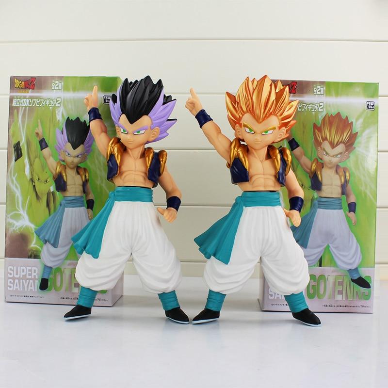 9''23CM Dragon Ball Z Super Saiyan Gotenks PVC Action Figure Collection Model Toy  Free Shipping