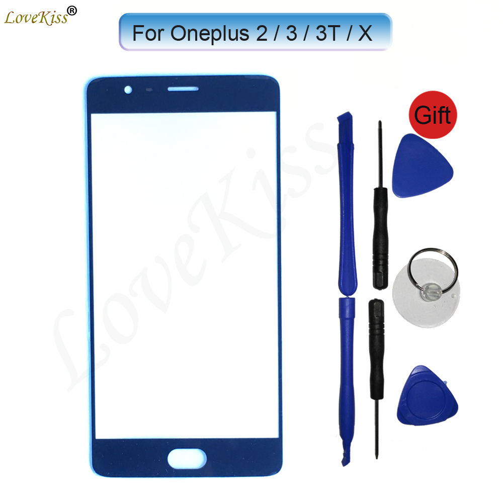 For Oneplus 6 5 5T 1+ X 2 Two A2001 One Plus 3 A3000 3T A3010 Touch Screen Sensor Front Panel Digitizer Glass Cover Replacement