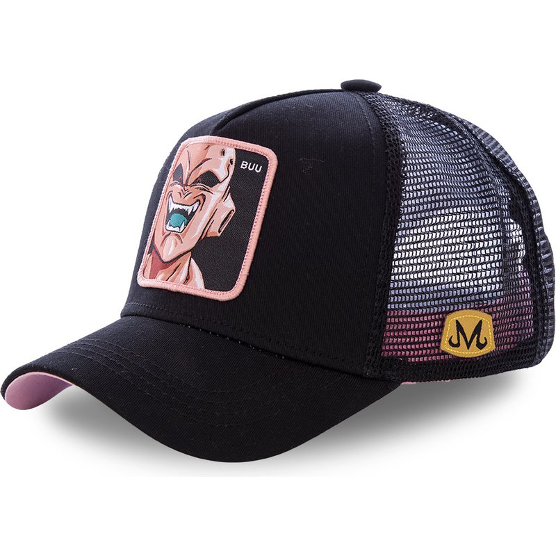 High Quality Dragon Ball Z Majin Buu Snapback   Cap   Cotton   Baseball     Cap   For Men Women Hip Hop Dad Hat golf   caps   Bone Garros