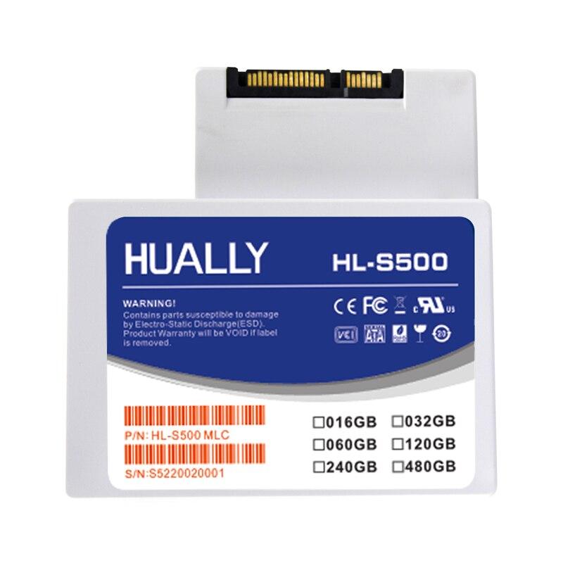 Hually 2,5 pulgadas SATA SATA2 SSD más competitivo de 8 GB 16 GB 32 GB de disco de estado sólido Drive HDD disco duro para ordenador portátil