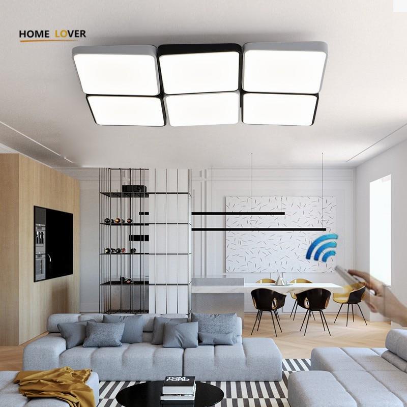 Moderne LED Decke Kronleuchter Lampe Wohnzimmer ...