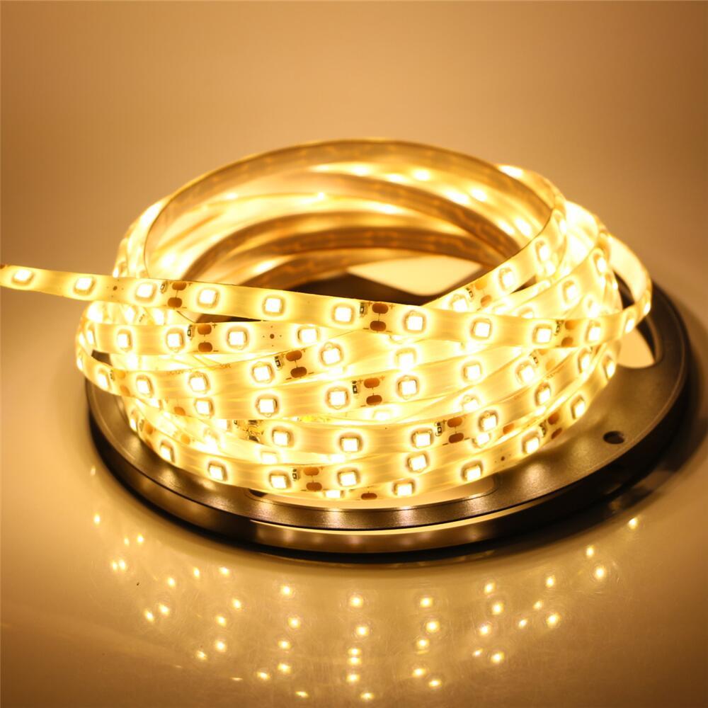 Bande Led 5 M 300 Led étanche 5630 corde lampe DC12V Fiexble ruban Led bande avec alimentation pour la décoration TV/PC