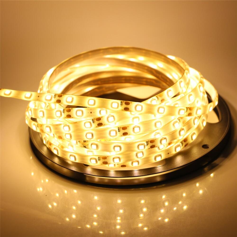 Led Strip Light 5M 300Leds Waterproof 5630 Rope Lamp DC12V Fiexble Led Ribbon Tape With Power Supply For TV/PC Decoration hot sale 5m 300leds waterproof rgb led strip light 3528 5050 dc12v 60leds m fiexble light led ribbon tape home decoration lamp